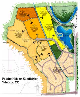 Poudre Heights subdivision plans