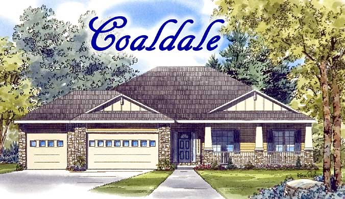 Coaldale model home