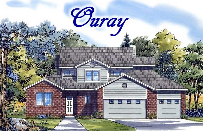 Ouray model home